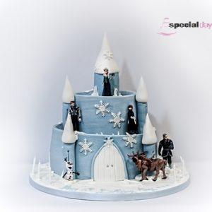 2 Tier Frozen Icing Castle