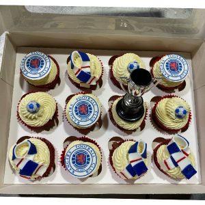 Rangers Cupcakes