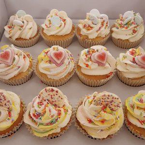 Love Heart Cupcakes