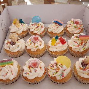 Retro Sweets Cupcakes